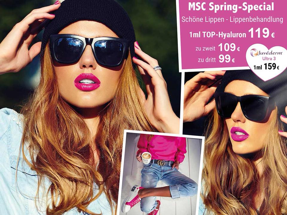 Boost your Lips mit 1 ml Hyaluronsäure ab 99€